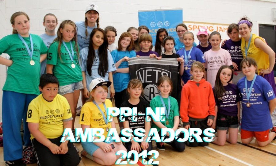 Some of the PPI-NI ambassadors at this year's Spring Jam tournament