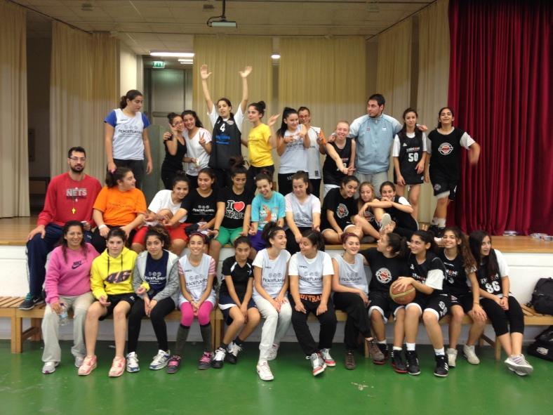 PeacePlayers' All Girls Tournament