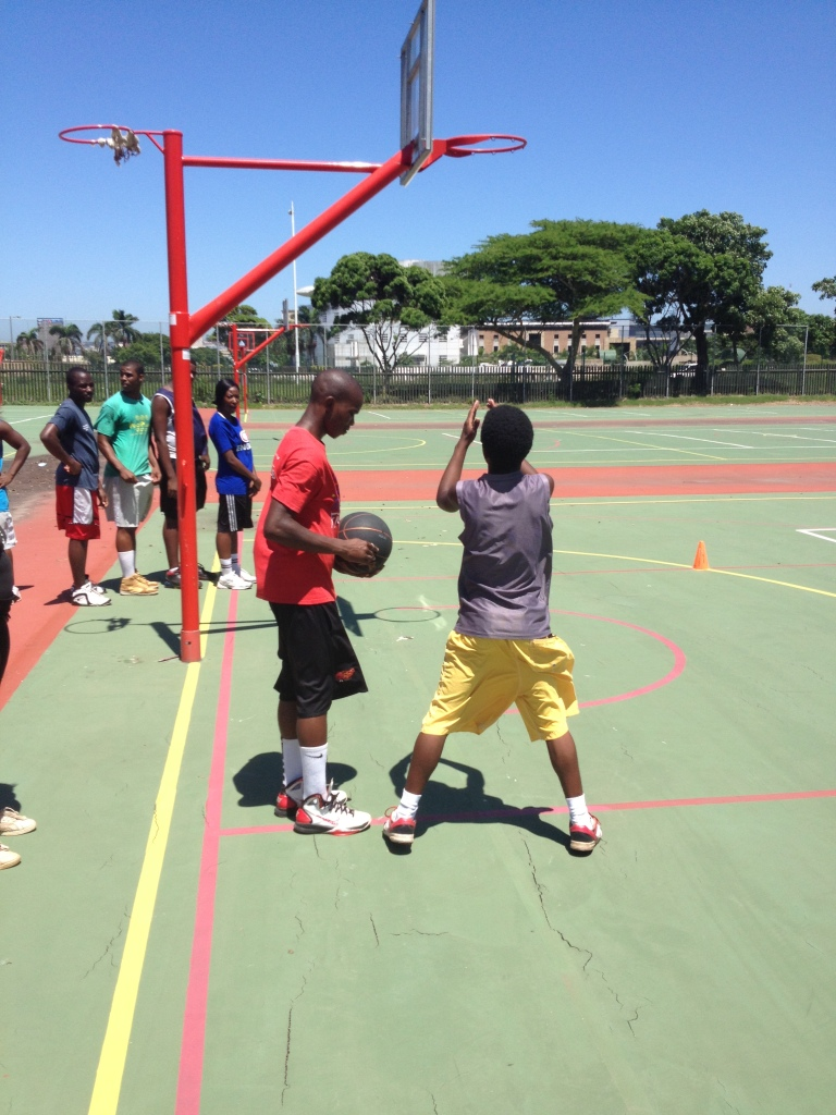 PPI-SA coaching applicants got a chance to show of their coaching skills last week.