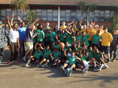 The PPI-SA Family at Glenmore Primary School, who started tryouts this week!