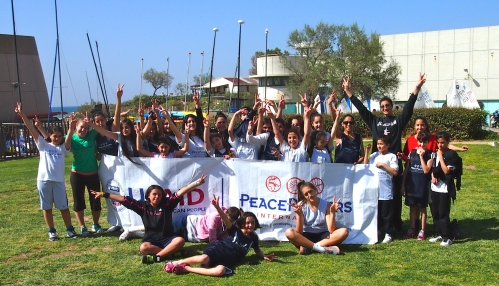 PeacePlayers - Cyprus family unites with PeacePlayers - Middle East in their recent journey to Israel