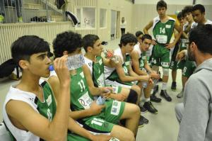 PPI Coach, Thanasis, communicates with his mixed team of Greek-Cypriots and Turkish-Cypriots in English