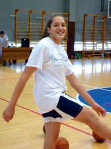 PPI participant Yael from Holon goofing around!