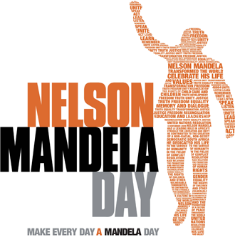 July 18th was Mandela Day, commemorating the leader's 95th birthday.