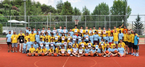 The PeacePlayers-Cyprus Basketball Camp