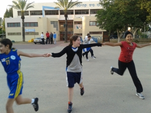 "The Hadera girls: ""Us coming together is not only about sports, i'ts about something greater than that."" """