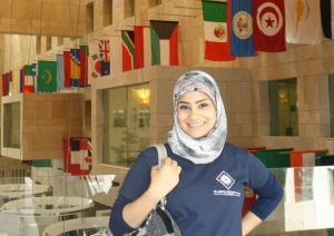 At the Georgetown University School of Foreign Service in Qatar