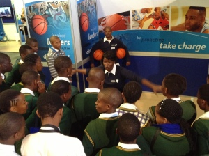 PPI-SA coach Nosihle was  a first time facilitator at the Sasol event