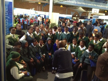 PPI-SA facilitating a life skills station at the 2013 Sasolburg Techno X Conference