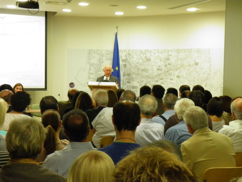 """Now is the time to solve the Cyprus Problem"", Mr. Vassiliou implores the crowd gathered at The Home for Cooperation"