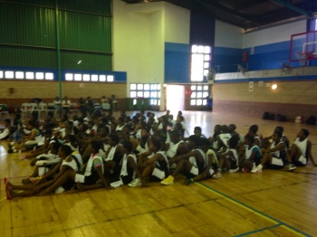 "80 boys and girls selected as ""Champions for Peace"" by PPI-SA staff capped off their month of training with a big tournament in Umlazi."