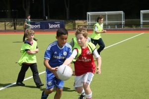 Promoting diversity through sport is becoming a more powerful tool to bring youth from different communities together.