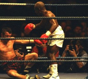Baby Jake Matlala isn't just the only South African boxer to win 4 world titles, at 4-foot-10, he is the smallest world boxing champion of all time.