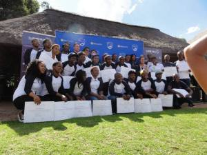 Laureus YES leaders from Durban graduated in Johannesburg in December 2013.