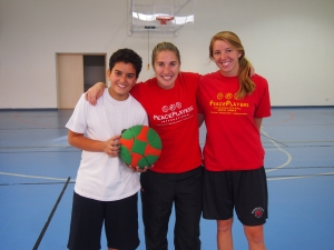 PPI Fellows Kristin Degou and Ashley Johnson coaching together in Cyprus