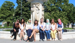The Andi Leadership Institute for Young Women brought together eight young women for an intensive three-week seminar this past August.