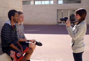 Samantha interviews LDPers Ran and Gidon regarding how they define peace.