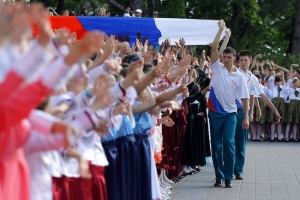 "Choirs of Russia ""Singing for Peace"" in a Cultural Olympiad event"