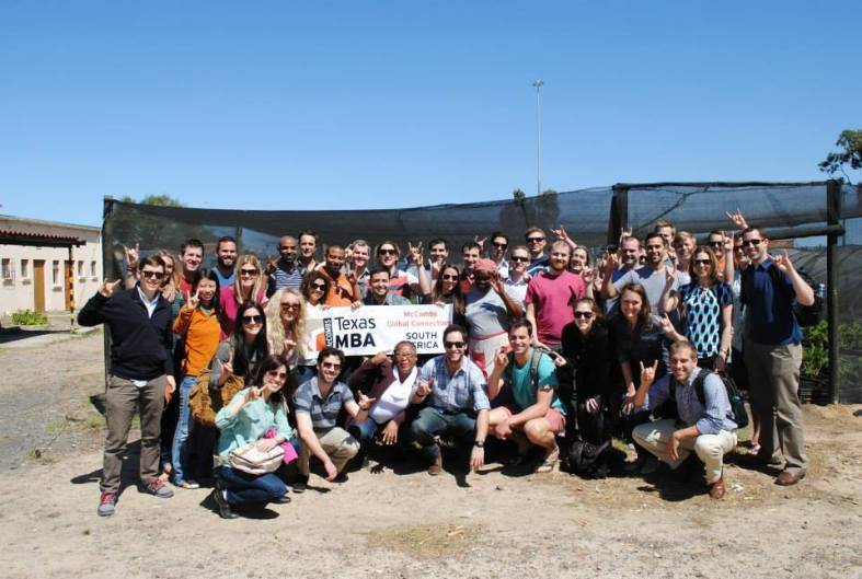 Former PPI-SA International Fellow Tim Roche brought his MBA classmates at Texas down to South Africa recently.