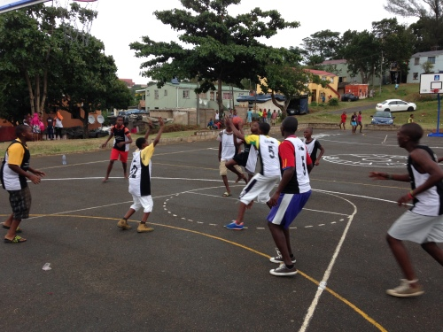 LDP participants from Umlazi and Lamontville compete in the first LDP game in nearly two years.
