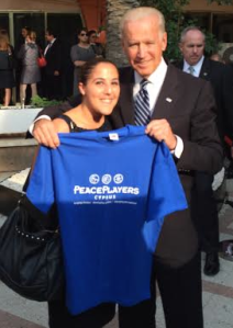 Managing Director Jale Canlibalik meets with Vice President Biden!