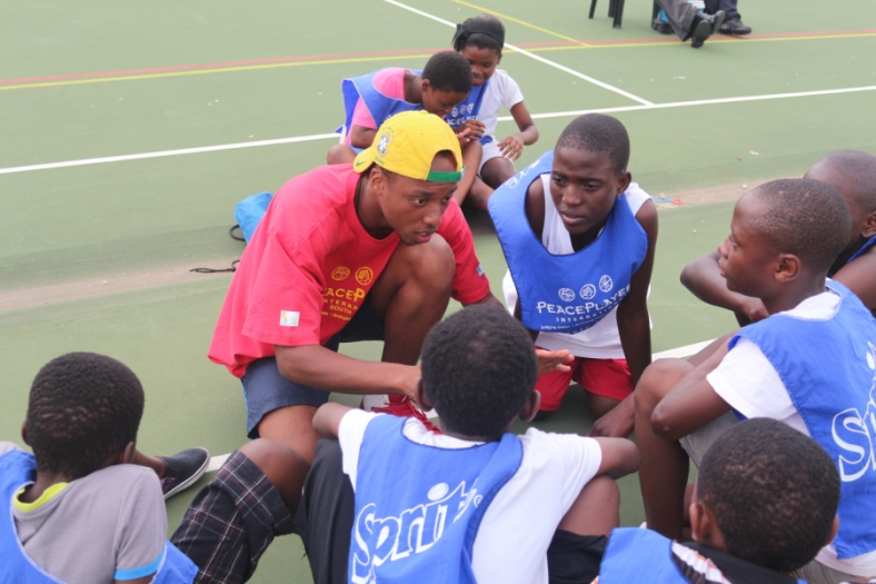 Yamkela Nako was a participant in PPI-SA before he became a coach at Assegai Primary School.