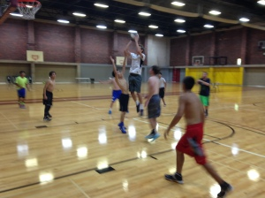 Some action from camp this week. I can't believe how skilled these kids are, but coaching here just isn't the same.