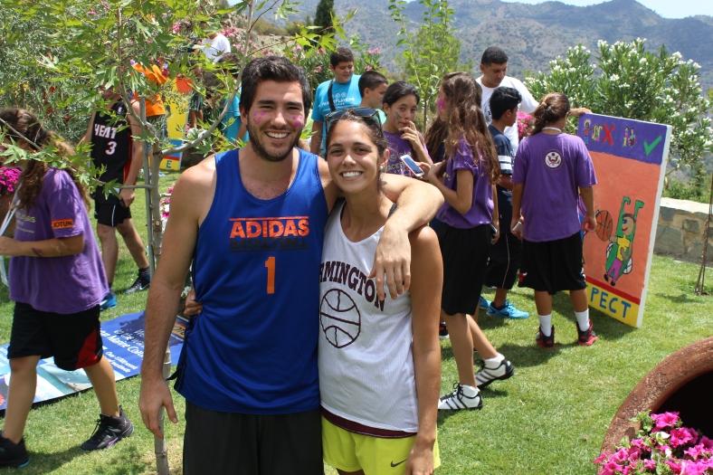 Coach Tessa and Coach Ryan