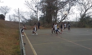 PPI (in white) takes on New Forest High School