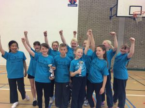 The integrated team comprised of Protestant and Catholic students from Wheatfield Primary School and Holy Cross Primary School are Super Sports Day champions for 2014!