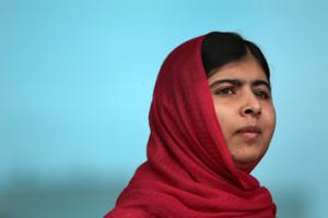 Ms. Yousafzai in Birmingham, England, Sept. 2013.