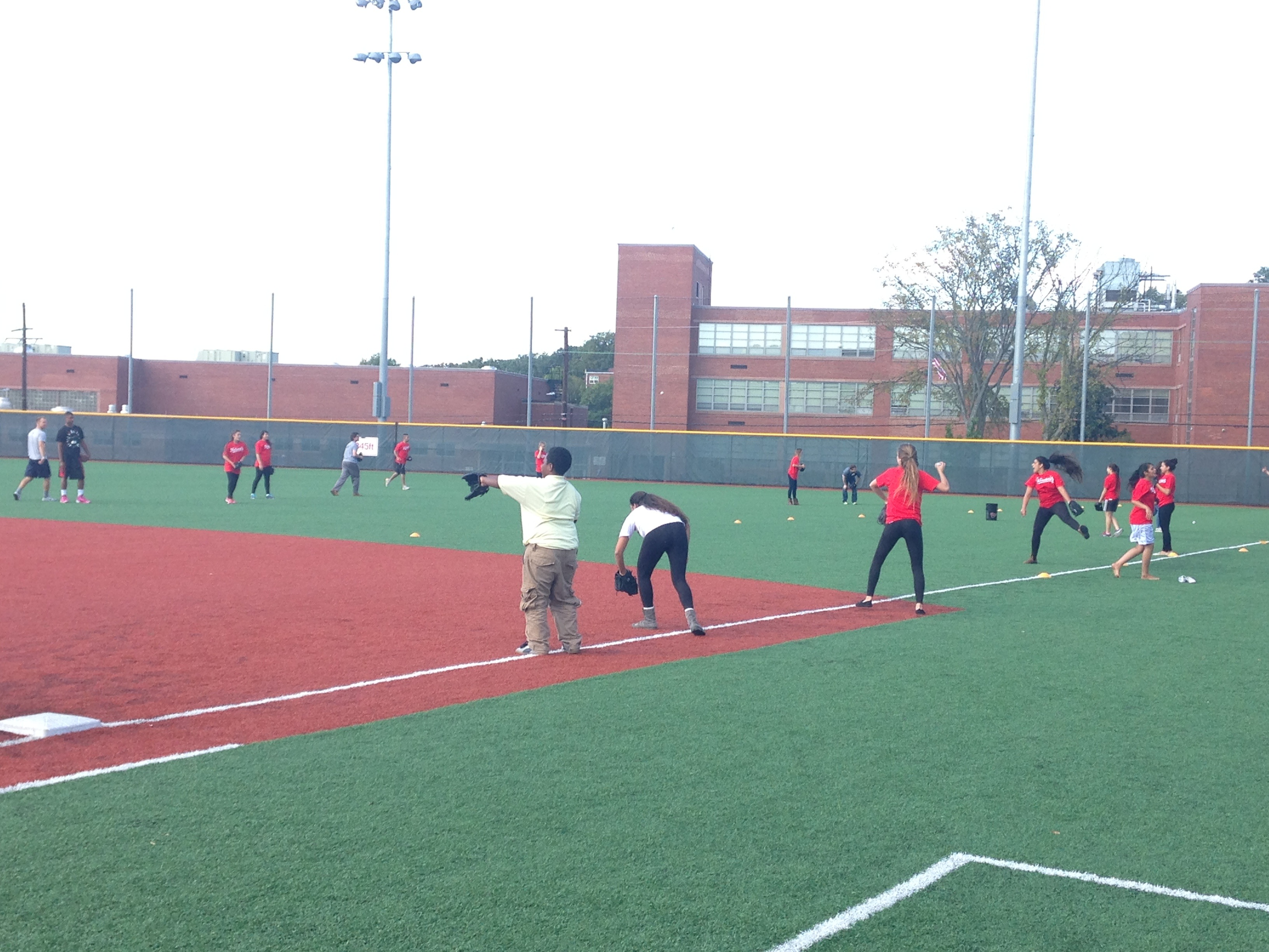 finding what motivates you in life from the field ppi me s ldp members practicing baseball drills at the washington nationals youth baseball academy