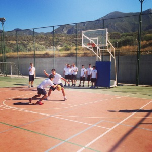 First practice of the year at English School of Kyrenia