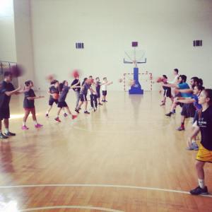 PPI-CY LDP working on basketball skills