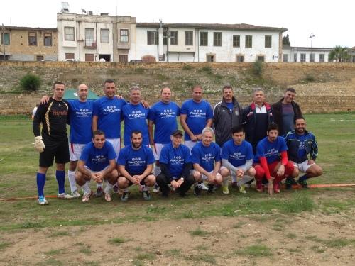 The first bi-communal football team in Cyprus since 1974