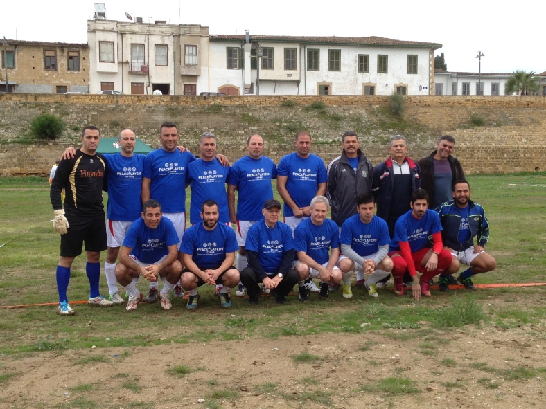 The first bi-communal football team in Cyprus since 1974