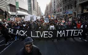 Thousands march through NYC last December to the theme Black Lives Matter