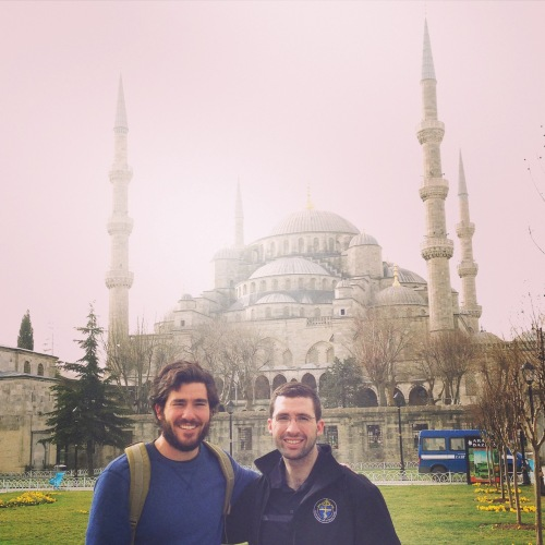 The Hage brothers take in the sights during a short trip to Istanbul!