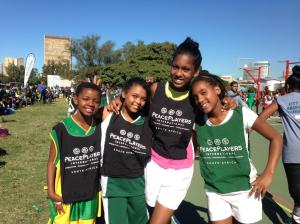 Girls from four different PPI communities at last year's City Wide Tournament