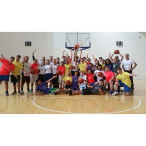 PeacePlayers-Cyprus after basketball training in Agros