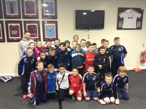 PeacePlayers International- NI coaches with Greenisland Football Club and St. Mary's Football Club