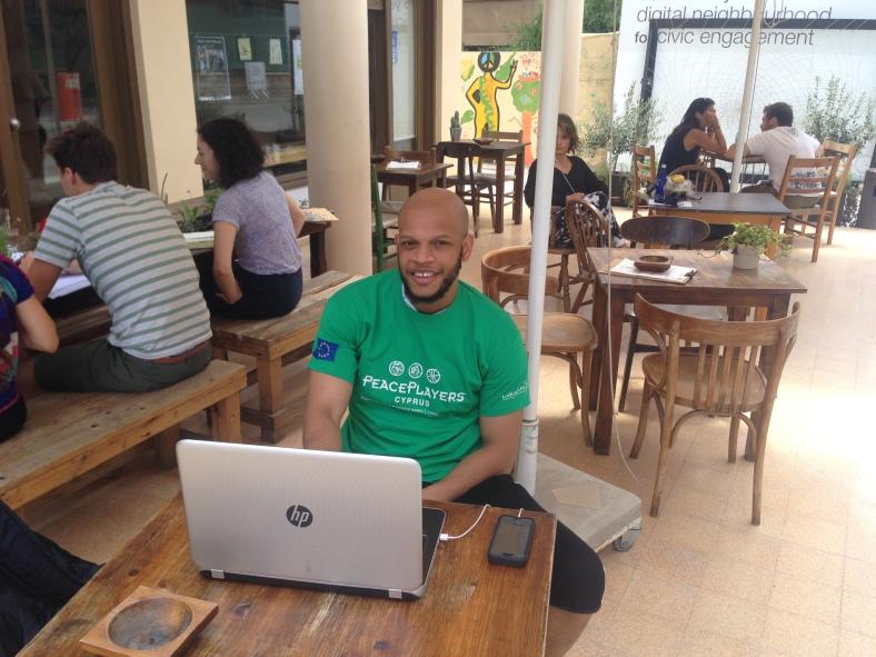 PeacePlayers superfan Khalid Robinson