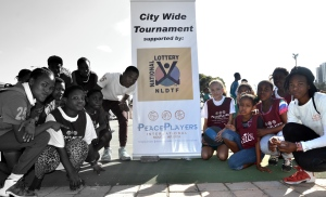 Thank you to the South African National Lottery for their support of the 25th City Wide Tournament
