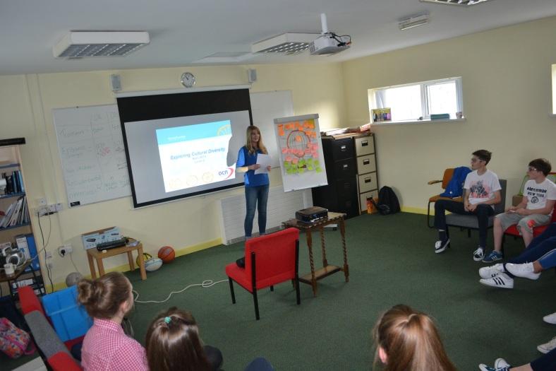 Laura's first OCN facilitation