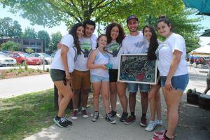 Eleni and her fellow Cyprus Friendship Program participants