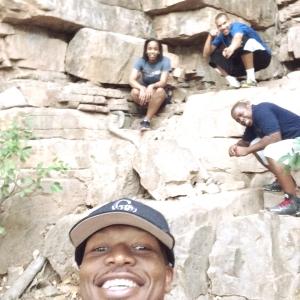 A selfie by PPI-SA staff members on last week's hike
