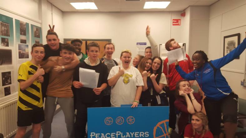 Champions4Peace after their monthly meeting!