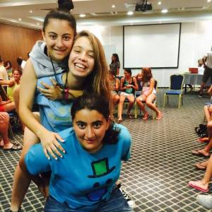 Sophia, Helin and Toot at PPI-CY summer camp 2015
