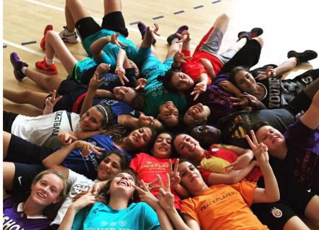 Sophia with her fellow campers at PPI-CY summer camp 2015