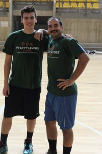Coach Nicos with LDP leader Veley Petkov